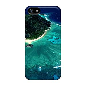 High Grade CloudTown Flexible Tpu Case For Iphone 5/5s - Amazing Nature