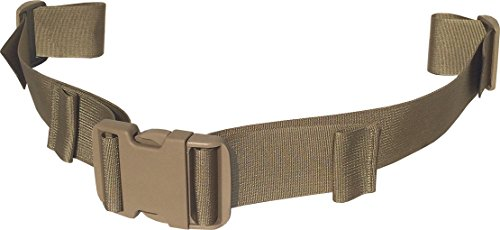 "Fire Force Backpack Waist Belt Universal Fit with Quality Military Buckles Made in USA (Tactical Tan, 2"" Wide)"