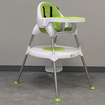 ZOE 5 In 1 BEST CONVERTIBLE HIGH CHAIR, BOOSTER SEAT U0026 TODDLER TABLE