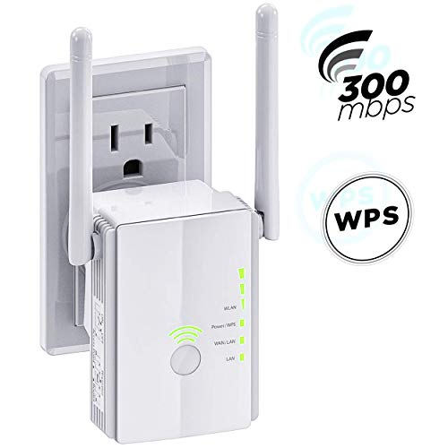 [Upgraded 2020] WiFi Extender 300 Mbps with WPS