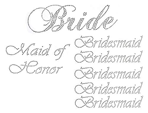 Check expert advices for bride iron on transfer?