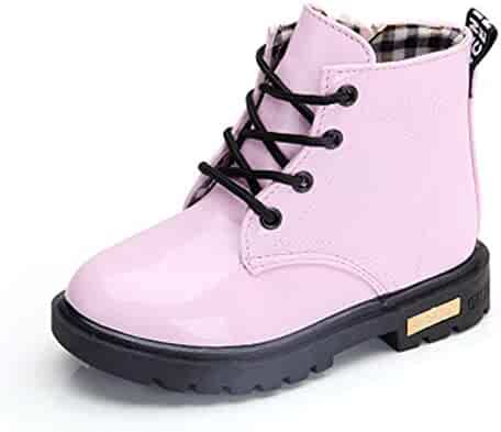 dfb8e23e6 Sam Look New 2019 Girls Martin Boots Boys Shoes Spring Autumn PU Leather  Children Boots Fashion