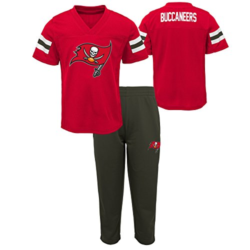 Outerstuff NFL NFL Tampa Bay Buccaneers Infant Training Camp Short Sleeve Top & Pant Set Red, 18 Months