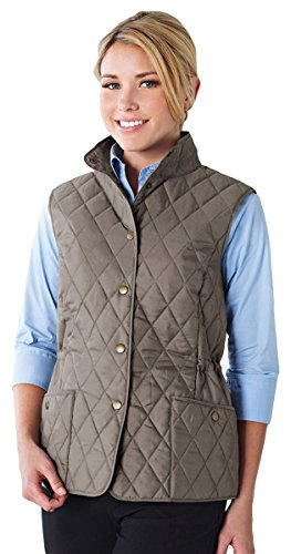 Lilac Bloom Womens Bailey Driftwood Wind Proof Water Resistant Vest (Bailey Collection Wood)