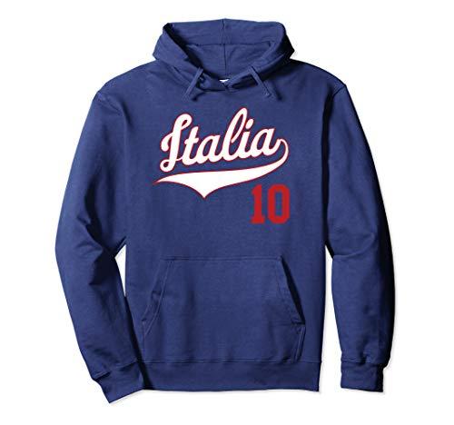 Retro Italy Baseball Jersey Italia Hoodie Football Soccer 10