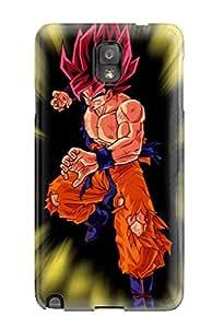 ZippyDoritEduard Perfect Tpu Case For Galaxy Note 3/ Anti-scratch Protector Case (super Saiyan Goku )