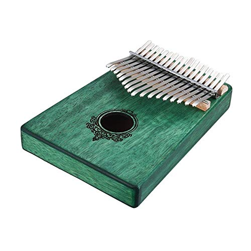 Kreative 17 Schlüssel Kalimba Daumen Klavier Feste Feste Feste Finger Klavier Taschenformat für Anfänger Kinder Holz Musikinstrument 8816e1