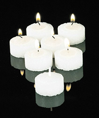 Set of 4 Hour Straight Side Vigil Lights Candle by AT001