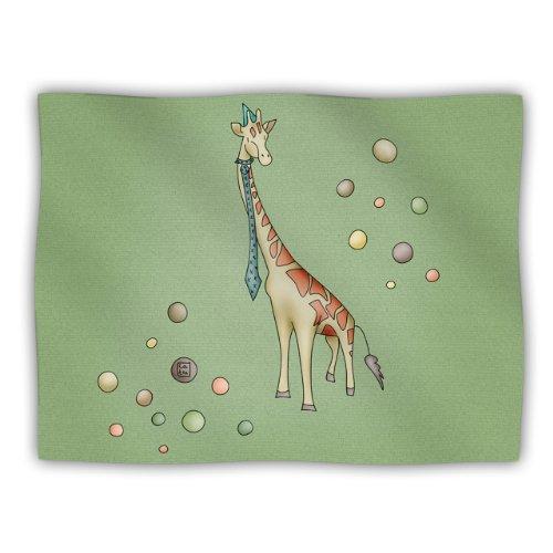 Kess InHouse Carina Povarchik Giraffe Pet Blanket, 40 by 30-Inch
