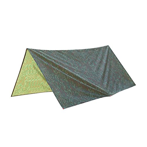 Lovoski 防水 アウトドア 3メートル 迷彩 キャンプ トレイル テント ハイキング シェルター