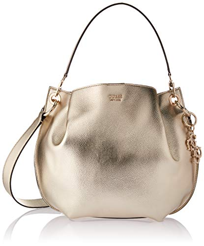 GUESS Digital Metallic Hobo, Gold (Guess Hobo Handbags)