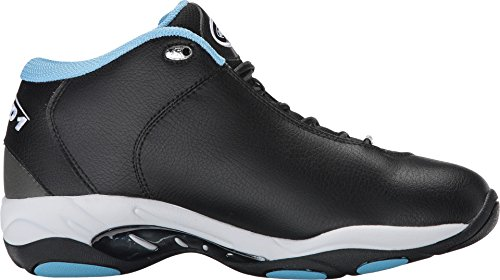 AND 1 Men's Tai Chi-M Basketball Shoe, Gunmetal/Black Alaskan/Blue, 11 M US