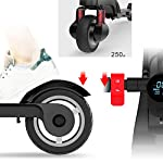 HAOYF-Monopattino-Elettrico-Pieghevole-Adulto-dei-Mini-Motorini-Elettrici-con-Gli-Altoparlanti-di-Bluetooth-velocit-Massima-55-Pollici-25Km-H-Carico-Massimo-100Kg