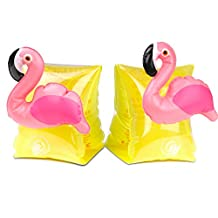 HeySplash Inflatable Arm Bands Floatation Sleeves Floats Tub Water Wings Swimming Arm Floats for Kids Ages 3-6