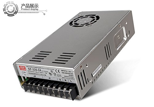 Taiwan meanwell authorized general agent SP-320-24 320W 24V13A meanwell switching power supply with PFC