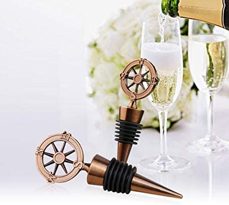12 Airplane Wine Bottle Stoppers Wedding Bridal Baby Shower Party Gift Favors
