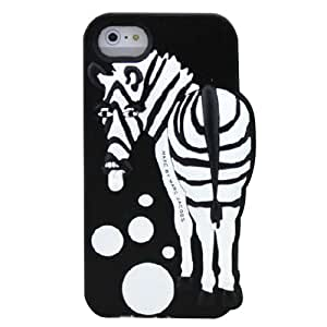 Tongue Out Zebra Phone Shell Case for Iphone5/5s