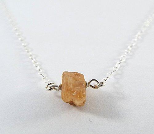Captive Stone Topaz Necklace (Sterling Silver)