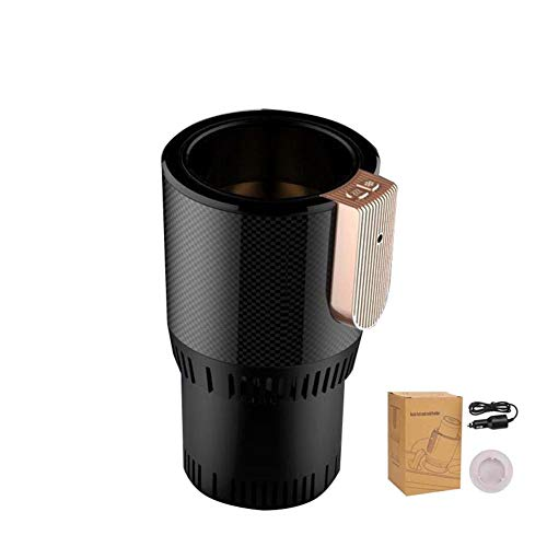 dlight 2-in-1 Car Cup Warmer Cooler Smart Car Cup Mug Holder Car Tumbler Holder for Commuter Road Tripper Thanksgiving Christmas Gifts ()