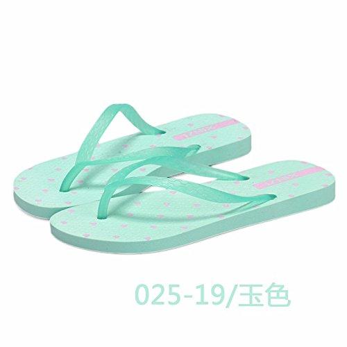 Fondo Zapatillas 5 para de Verano de 3 Playa Moda Zapatillas Flips Liuxinda Verano Zapatillas Mujer Zapatillas plástico LIUXINDA Grueso azul XZ de Zapatillas de UK de de Azul 4x8wXOWZ