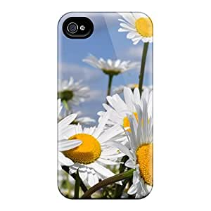 Top Quality Cases Covers For Iphone 6 Cases With Nice Daisies Flower Appearance
