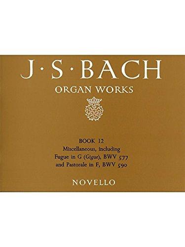 Download J.S. Bach: Organ Works Book 12 pdf epub