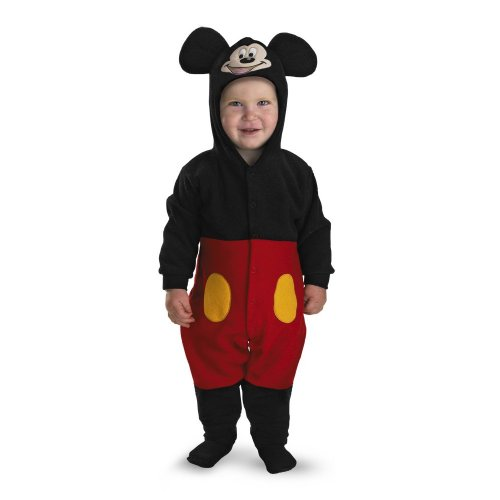 Mickey Mouse Halloween Costume Toddler (Mickey Mouse Infant Costume - Size: 12-18 months)