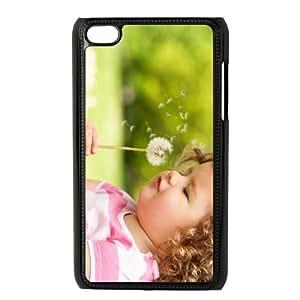 Girl Dandelion iPod Touch 4 Case Black S5579893
