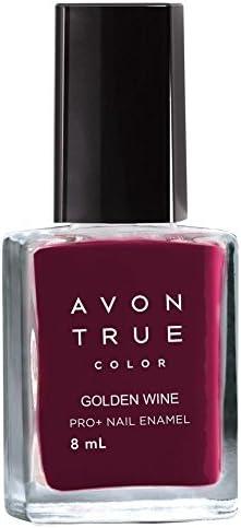 Buy Avon True Color Nailwear Pro Nail Enamel Golden Wine Online