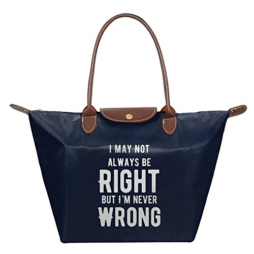 Unisex I'm Not Always Right But I'm Never Wrong Picnic Bundle Navy by Adwelirhfwer