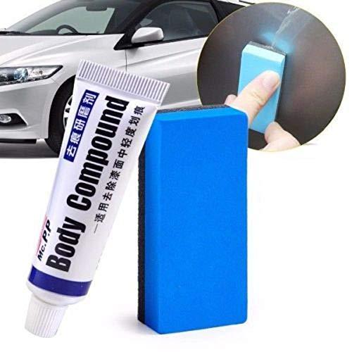 Sponges & Scouring Pads - Car Body Compound Scratch Remover Eraser Paste With Sponge Brush Removing Defect Polishing Wax - Car Scratch Polish Car Compound Cooler Repair Compound Paint & Aut