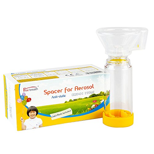 Spacer for Kids,Come with Mask,Fit Any Size,Sealed Package,Clean and Safe