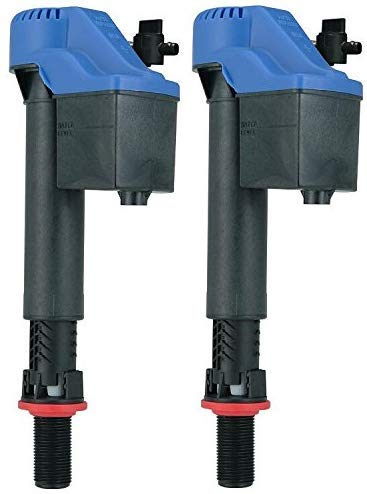 Korky 528GT Universal Fill Valve for Toto Toilets, Blue (2-Pack)