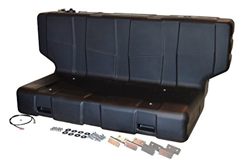 TITAN Fuel Tanks 5014090 Hammerhead, L Shape, Liquid Transfer Tank Fits Most All Full Sized Pickup Trucks, 90 gal/340 L
