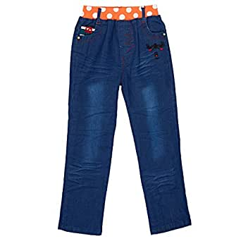 Niu Xiao Jiang Straight Capris Pant For Girls