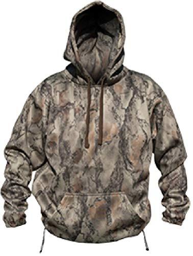 Natural Gear Camo Hoodie, Water Resistant Sweatshirt for Men and Women, Layering Fleece Camo Hoodie (Medium)