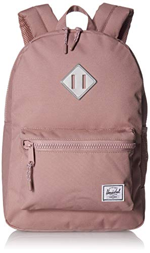 Herschel Kids' Heritage Youth Children's Backpack, Ash Rose/Silver Reflective, One Size