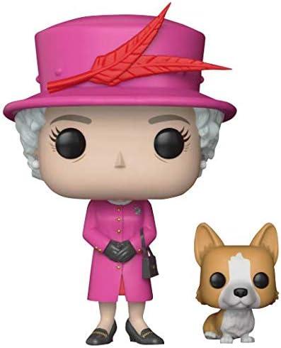 21947 Standard Funko Pop!- Royal Family Queen Elizabeth II Figura de Vinilo Multicolor