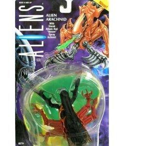 Alien Arachnid with sneak attack and venom spray action figure (Kenner Aliens 1992)