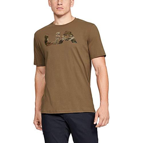 Under Armour Camo Fill T-Shirt, Uniform (225)/Black, X-Large