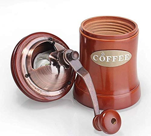 Portable Manual Ceramic Coffee Bean Grinder Machine