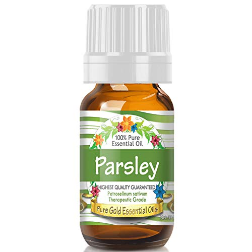 (Parsley Essential Oil (100% Pure, Natural, UNDILUTED) 10ml - Best Therapeutic Grade - Perfect for Your Aromatherapy Diffuser, Relaxation, More!)