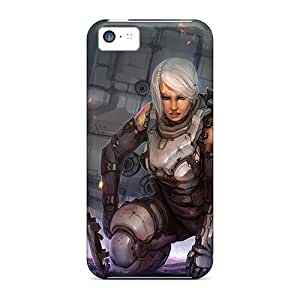 Premium [oEPVwDL13wRuDr]female Soldier Case For Iphone 5c- Eco-friendly Packaging