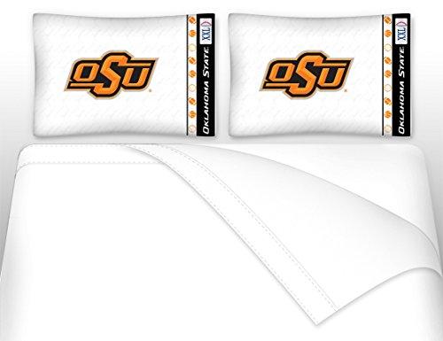 Oklahoma State University Microfiber Sheet Set (Full) Oklahoma State Sheet