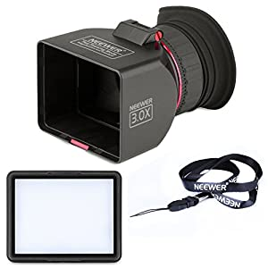 Amazon.com : Neewer Foldable 3-Inch LCD Viewfinder 3X ...