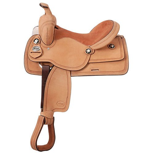 King Series Bobcat Youth Competition Saddle (12
