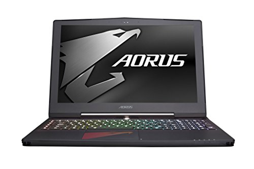 "Aorus X5 v7-KL3K3D 15.6"" Notebook IPS WQHD+ 7th Gen Intel i7-7820HK, GeForce GTX 1070 8GB, 16GB DDR4, 256GB SSD Win 10 Slim and Light Gaming Laptop"