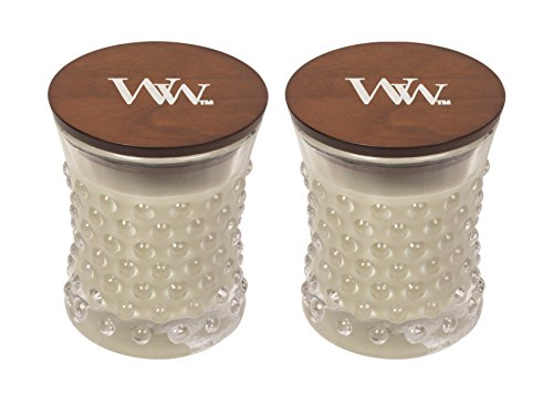 WoodWick Vintage Hobnail Candle Set - Fireside