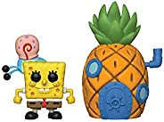 Funko Pop! Town: Spongebob Squarepants - Spongebob with Pineapple