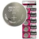 Maxell 10x Genuine Cr2032 3v Lithium Button/Coin Cells Batteries Free Post